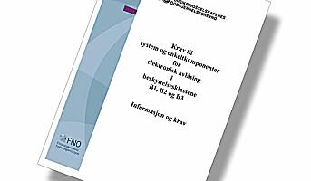 Nye FG-regler for elektronisk avlåsing