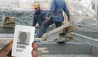 Id-kort gir bedre sikkerhet i byggebransjen