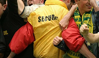 Krever godkjente sikkerhetsvakter