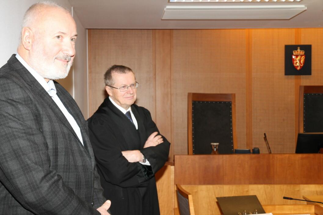 Daglig leder Jon Sigurd Jacobsen i S.O.S. Event Security møtte sammen med advokat Steinar Sørlie da han saksøkte - og vant - over Den orske Opera & Ballett (foto: Even Rise).
