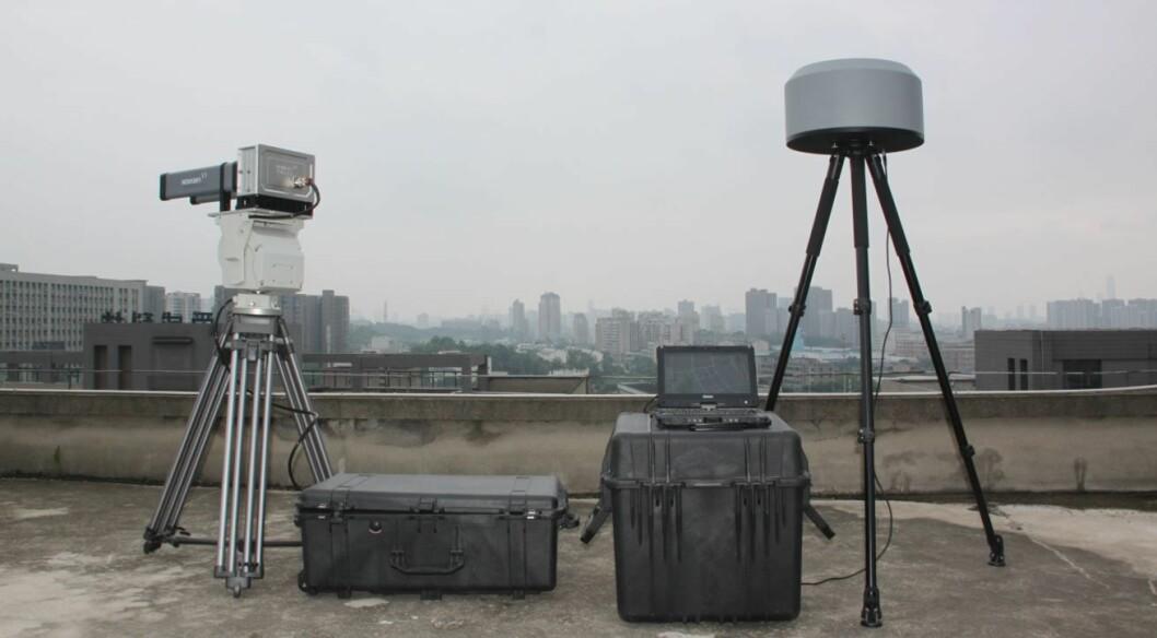 Stig Norman Olsen sier at ubemannede farkoster i lufta kan være en sikkerhetstrussel. Nå satser Detec på anti-drone-deteksjon (foto: Detec).