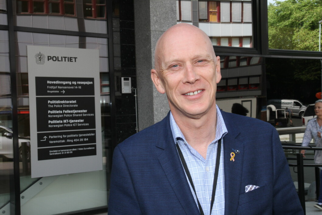 Fagsjef Runar Karlsen i NHO Service og Handel gleder seg over at NHO og Poltidirektoratet i dag signerer avtalen som sikrer samhandling mellom sikkerhetsbransjen og politiet på landsbasis (arkivfoto: Even Rise).