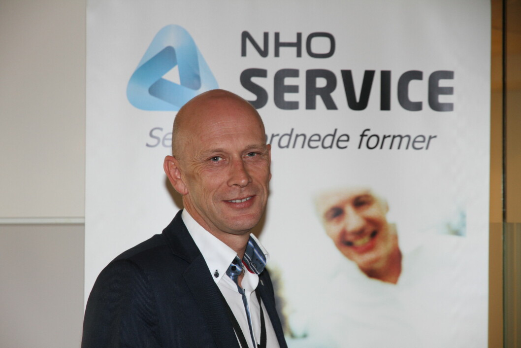 Fagsjef Runar Karlsen i NHO Service og Handel gleder seg over at stadig flere består eksamen til vekteropplæringen (arkivfoto: Even Rise)..