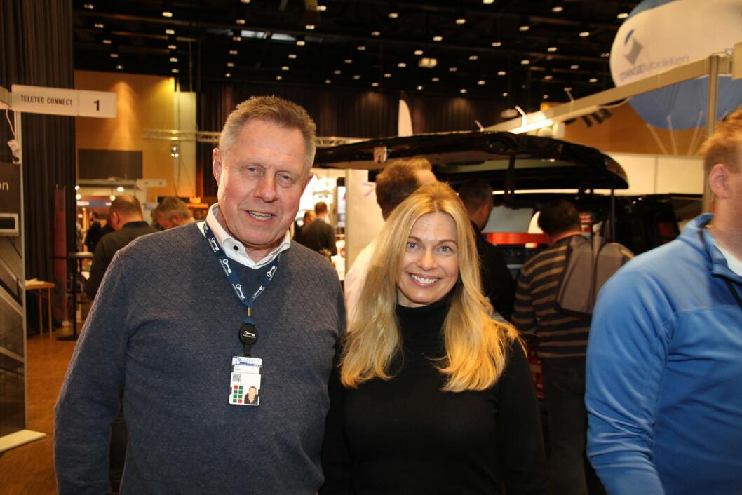 Styreformann Knut Kildahl og administrativ leder Anne Line M. Sagbakken er strålende fornøyde med årets låsesmedtreff (foto: Even Rise).