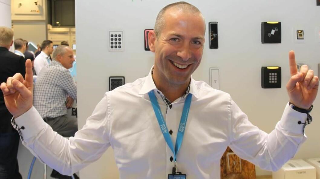 Freddie Parrman har lykkes godt med Seriline de siste tre årene. Nå overtar Seriline Cidron i Europa fra Nexus hvor han jobbet tidligere (arkivfoto: Even Rise).