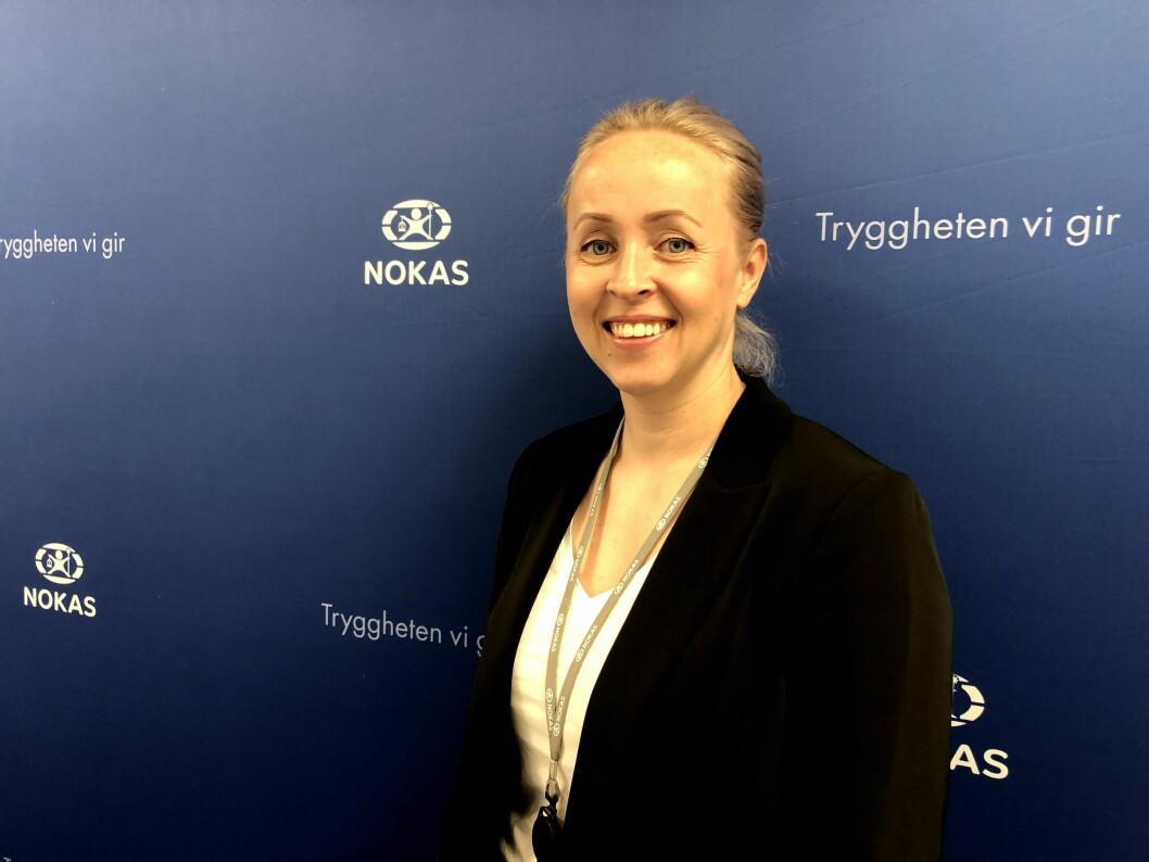 Inger Anette Lorentzen, som er key account manager for tjenesteutvikling i Nokas, er svært fornøyd med OTG-avtalen (foto: Privat).