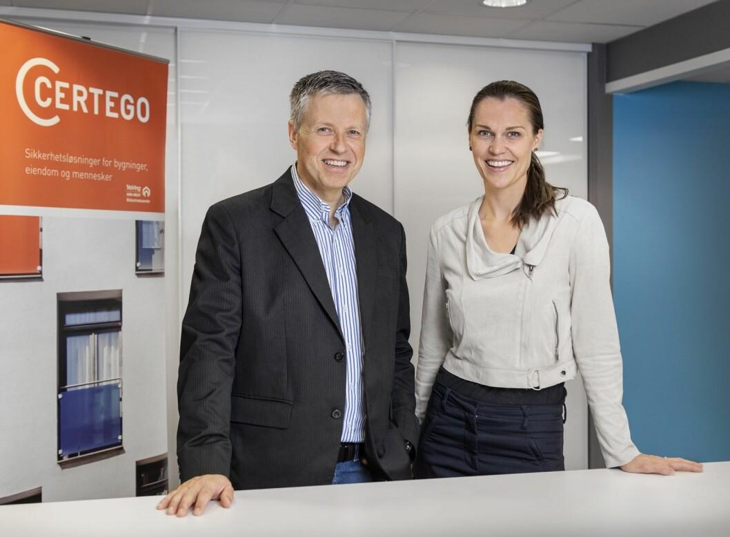 HR Manager Tonje H. Helstad er svært fornøyd med å ha fått Per Wichstad inn i Certego (foto: Privat).
