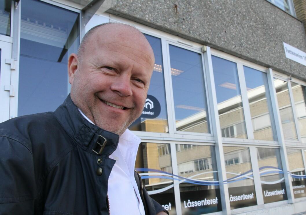 Staale Raa har sikret seg Siklas. Det innebærer at Låssenteret i år vil omsette for 300 millioner kroner (foto: Even Rise).