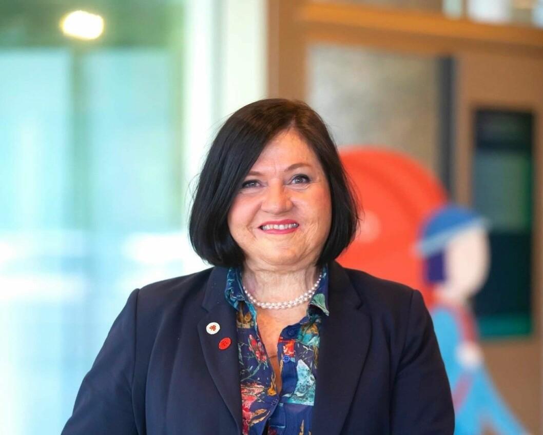 Anette Tinglum forlater NSR til fordel for ny jobb i UDI (foto: Per-Åge Eriksen).