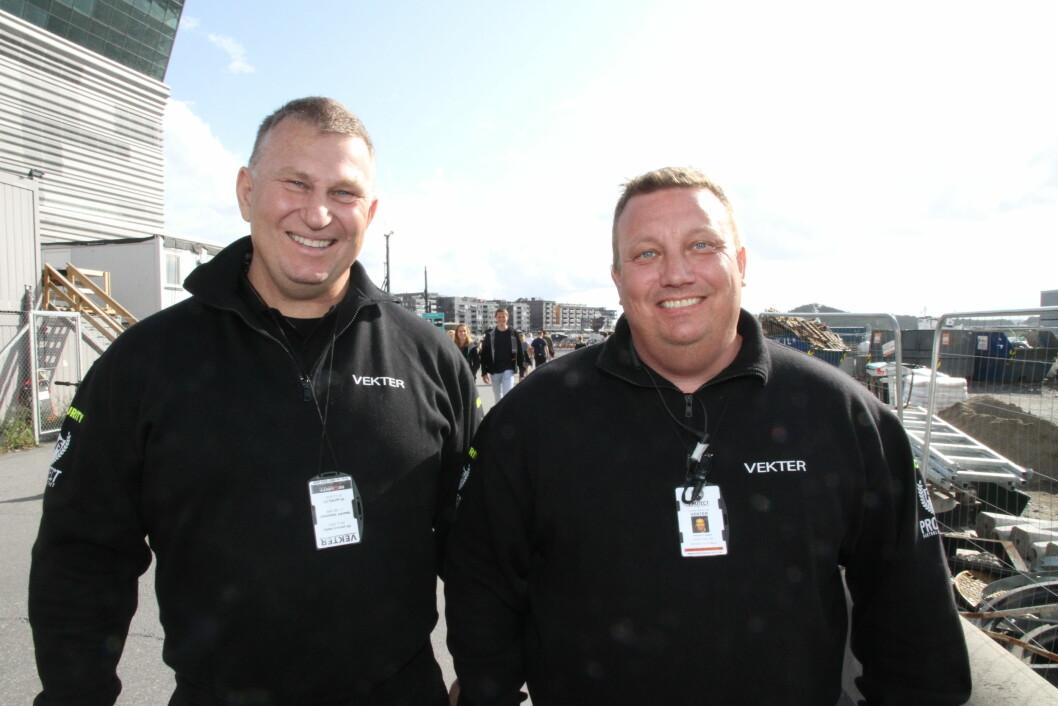 Dick Hansson og Petter Nilsen har gjennom Protect Vakthold og Sikkerhet AS sikret seg halvparten av Eku Security i Kristiansund (foto: Even Rise).