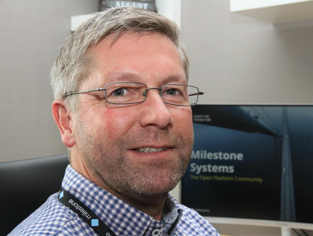 Kaare Koren Røvig er ansatt i Milestone Systems for å øke posisjonen i Norge ytterligere (foto: Even Rise).