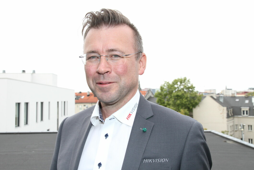 Yngve Lyng Lillevik er ny country sales manager for Hikvision i Norge (foto: Even Rise).