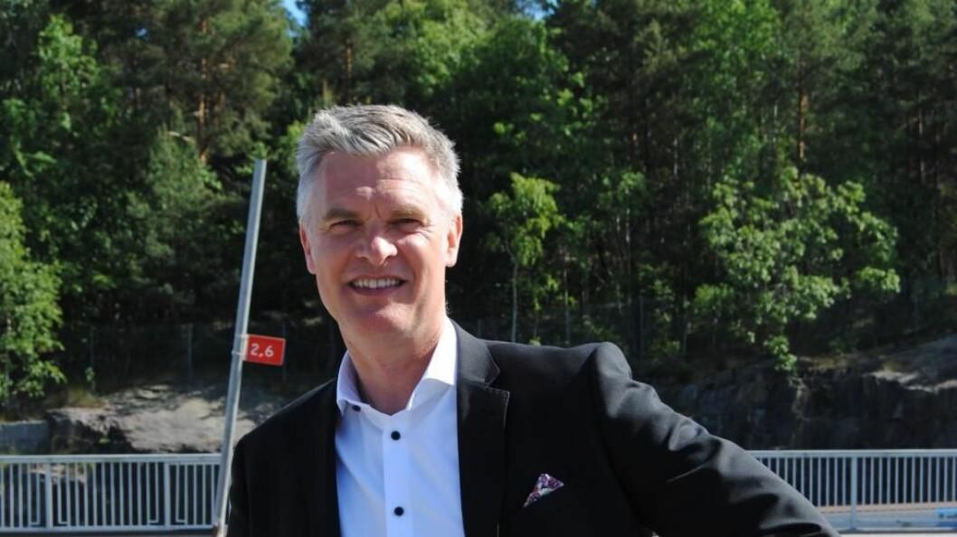Stefan Albertsson fortsetter som administrerende direktør i AddSecure etter at Castic Capital blir største eier i selskapet (foto: privat)..