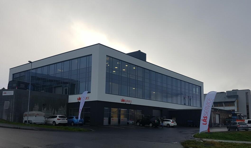 Låsservice Ålesund går inn i Prosero (foto: privat).