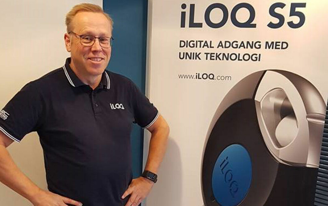 Trond Wiker i Iloq er stolt over å kunne presentere den nye Iloq S5 (foto: privat).