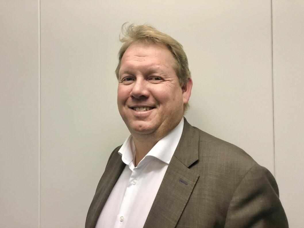 Gisle Sveva er ny sjef for kontantvirksomheten i Nokas (foto: privat).