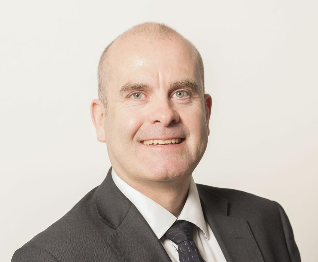 Petter Falch Pedersen, tidligere sentral i Nokas, gleder seg over at smarthus-selskapet Rackit nå skal spille på lag med landets største dør- og vindusprodusent; NorDan (foto: Privat).