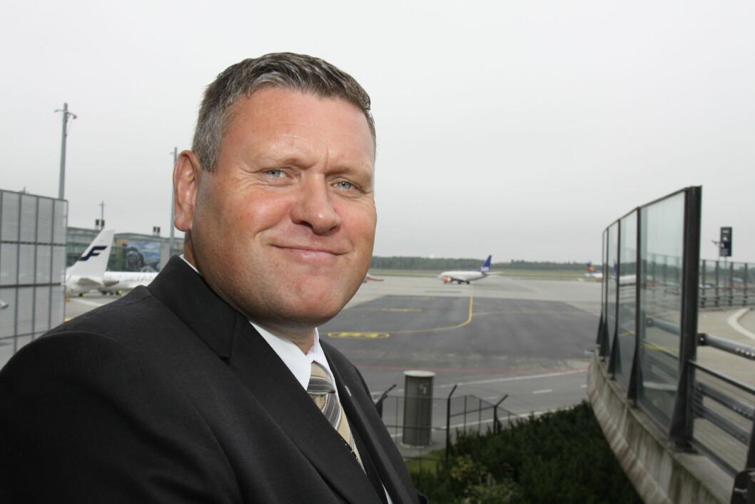 Kjell Frode Vik er landsjef for Nokas, og jobbet tidligere med flyplassikkerhet. Nå kan han glede seg over at arbeidet han startet på ga solide resultater (arkivfoto: Even Rise).