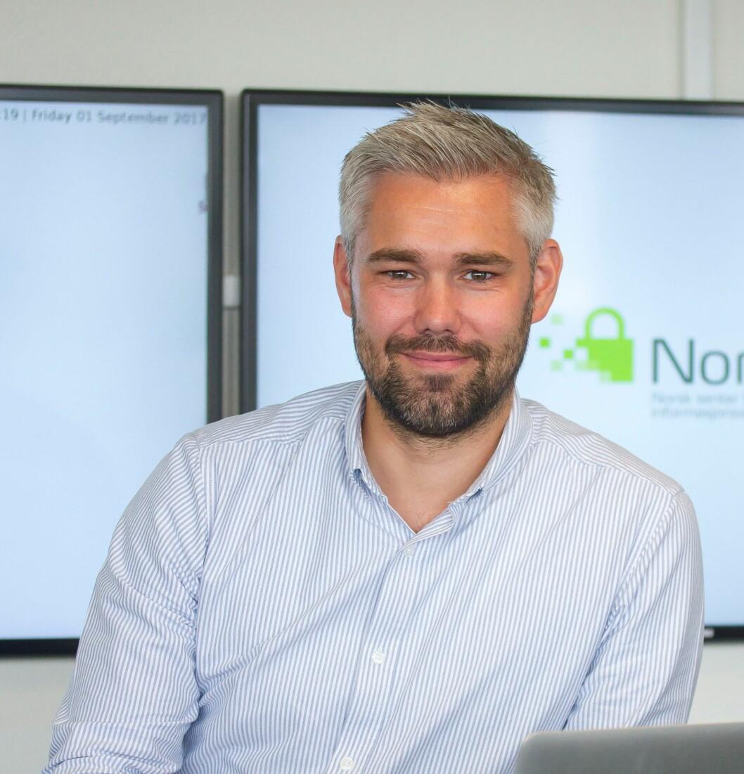 Seniorrådgiver Ole Anders Ulsrud fra NorSIS var i dag med på lanseringen av kurset «ID-tyveri og svindel» (foto: NorSIS).