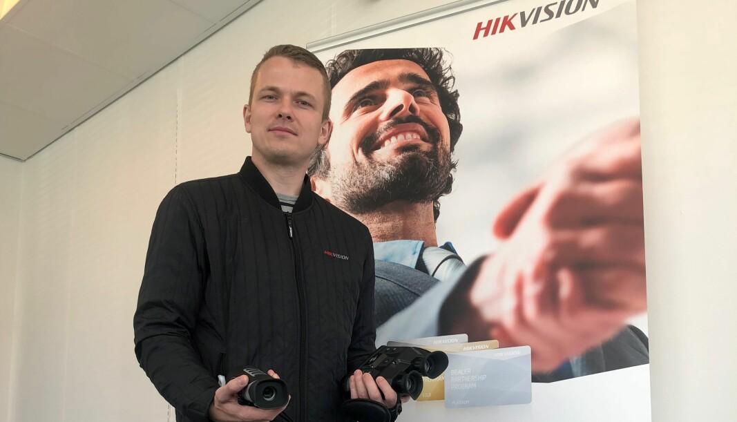 Hikvision utvider i Norge