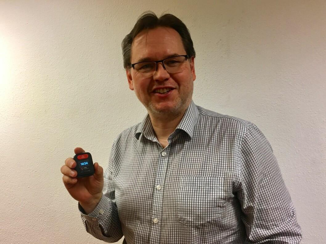 Produktsjef Ken Inge Hanski har stor tro på det nye sikkerhetssystemet (foto: privat)