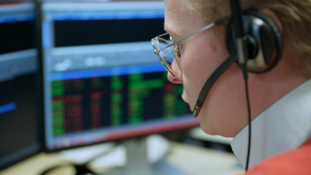 Operatørene på alarmselskapets sentral får en sentral rolle i den nye TV-serien på Max (foto:privat).