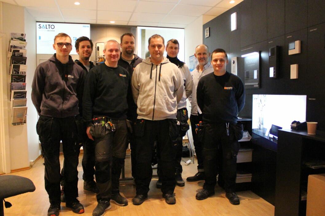 Eierne av Automatikk-Service AS har solgt selskapet til Prosero Security Group (foto: privat).