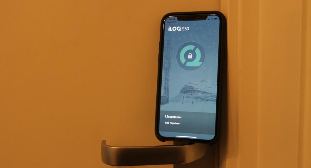Med iOS 13 er Iloq S50 blitt tilgjengelig for både Android-telefoner og Apple-telefoner.