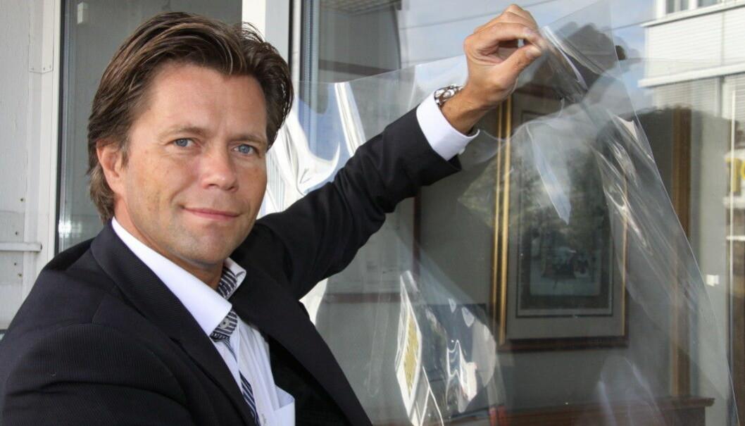 Per Ove Paulsen lover at han og flere andre fra Mil Sec Norge AS vil fortsette i sikkerhetsbransjen etter at selskapet i dag meldte oppbud.