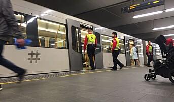 Sporveien har valgt sikkerhetsleverandører
