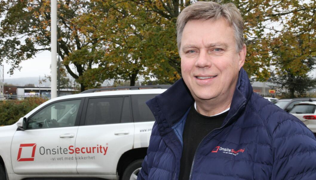 Jomar Thoresen er en av dem som står bak Onsite Security. To nye investorer skal løfte virksomheten ytterligere.