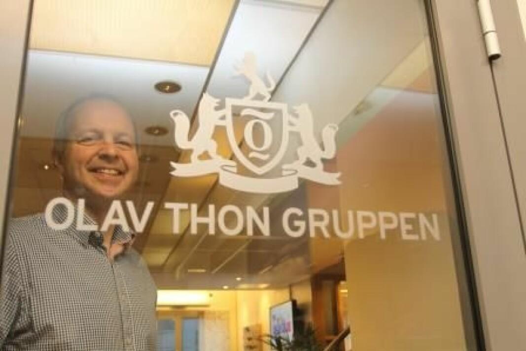 Sikkerhetssjef Ola Stavnsborg i Olav Thon Gruppen sier at vaktholdet på kjøpesentrene forventes å normalisere seg i løpet av kort tid.
