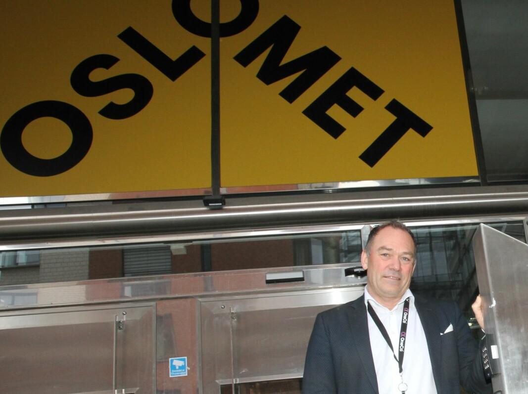 Salgssjef Jahn Gulbrandsen i divisjon sikkerhet hos Oneco Technologies er glad for at selskapet vant konkurransen om VMS-system til OsloMet.