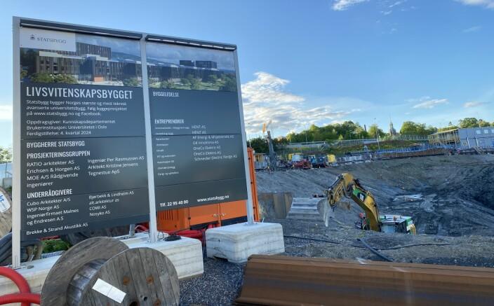 Den største prestisjejobben Oneco er i gang med i dag, er Livsvitenskapsbygget for Statsbygg i Oslo. Sikkerhet, blant annet med lås og beslag, er blant mange fagområder de bidrar med der.