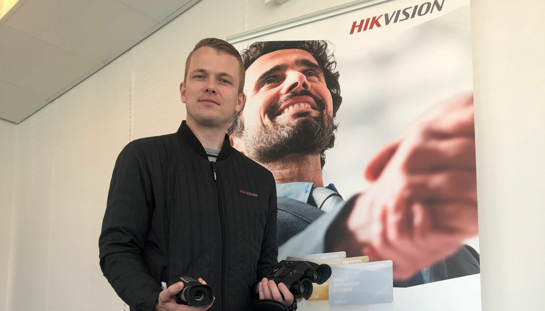 Michael Hygild forlater Hikvision.
