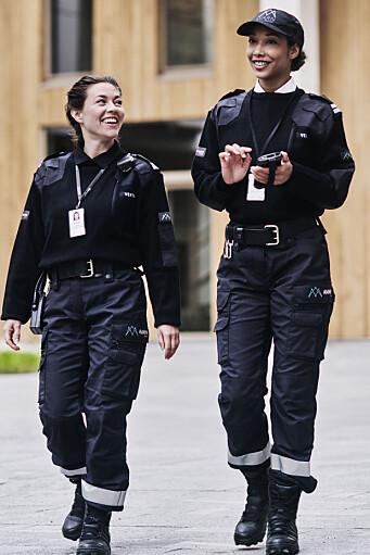 Avarn Security-uniformer skal i tiden fremover erstatte de gamle Nokas-uniformene.