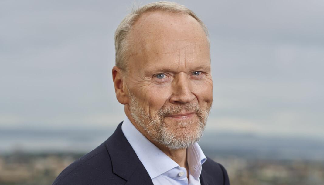 Amund Skarholt fungerer som administrerende direktør i Garda Sikring frem til ny sjef begynner 1. september.