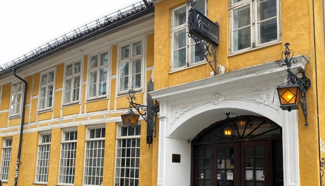 En vekter fra PSS Securitas ble skallet i ansiktet under tjeneste som ordensvakt på Gamle Christiania (Gamla) i Oslo.