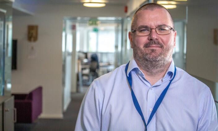 Direktør for smart-teknologi i Caverion, Knut Erik Melstrøm, har – sammen med kollegene – grunn til å glede seg over avtalen som i dag ble signert med DSS om teknisk sikring.