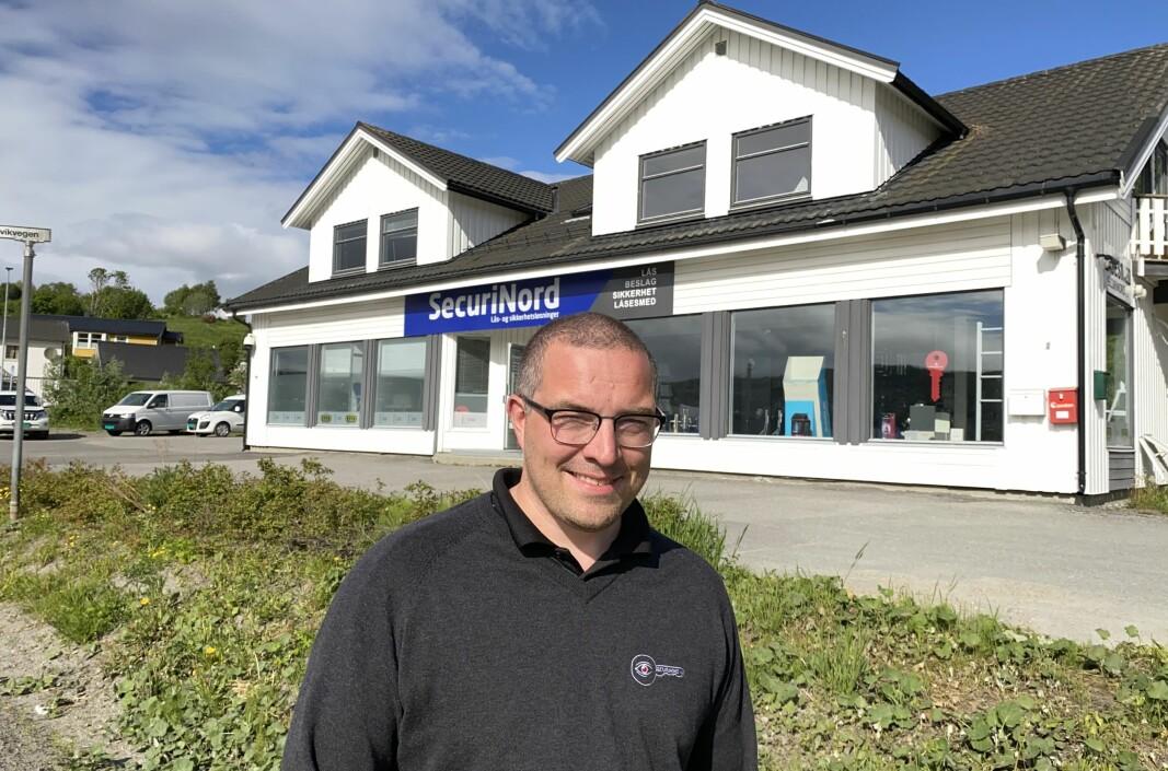 Jens Christian Helgesen selger Securinord i Harstad til Prosero Security Group.
