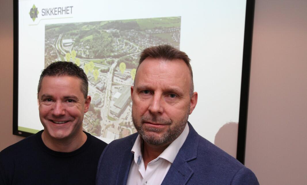 Kenneth Furesund og Svein H. Dahle overtar GK Sikkerhet fra nyttår. Selskapet, som får nytt navn, skal gi de ansatte mulighet til eierskap.