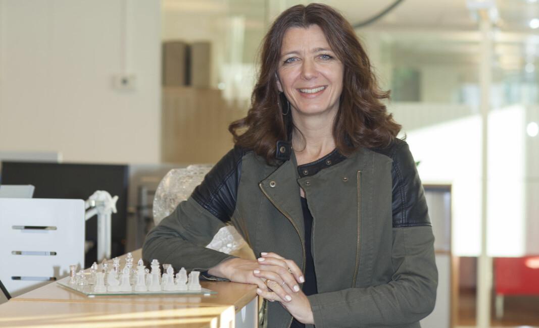 Administrerende direktør i NHO Service og Handel, Anne-Cecilie Kaltenborn, har tro på en løsning i konflikten med vekterne.
