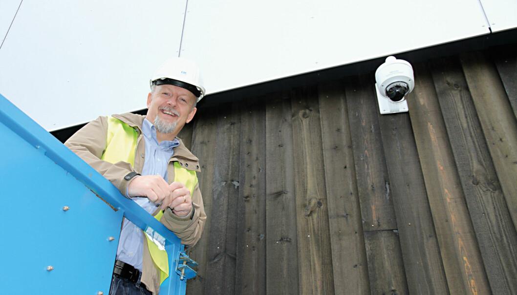 Kamtek, med Kato Lystad i spissen, ble valgt som leverandør av kameraene som skal sikre bygningsmasse og gjester i Jessheim bad.