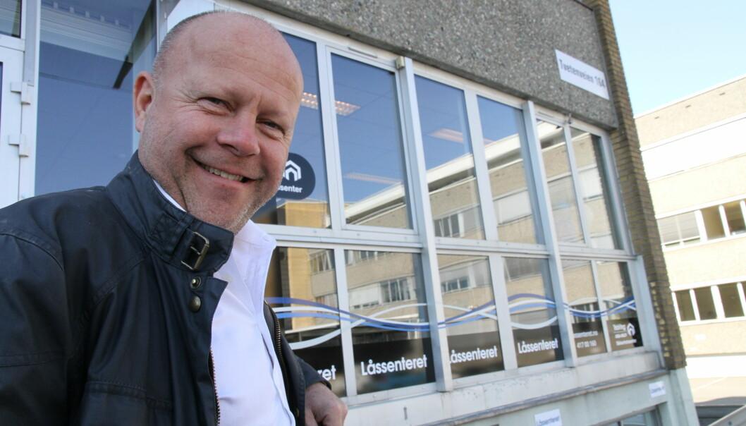Konserndirektør Ståle Raa i Låssenteret gleders seg over rammeavtalen med Bane Nor. Han takker ansatte for å ha sikret oppdraget, og takker kunden for tilliten.