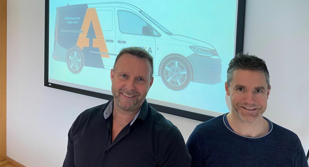 Svein H. Dahle og Kenneth Furesund gleder seg til det nye selskapet kommer ordentlig i gang.