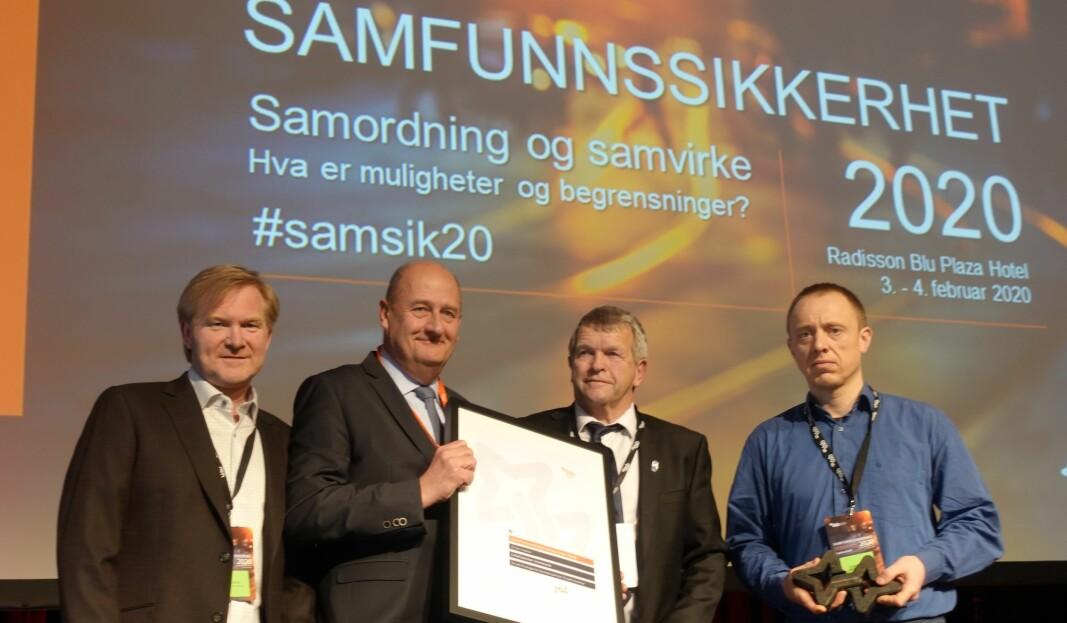 I fjor vant Lillehammer kommune Samfunnssikkerhetsprisen. Nå etterlyser DSB kandidater foran neste Samfunnsikkerhetskonferanse.