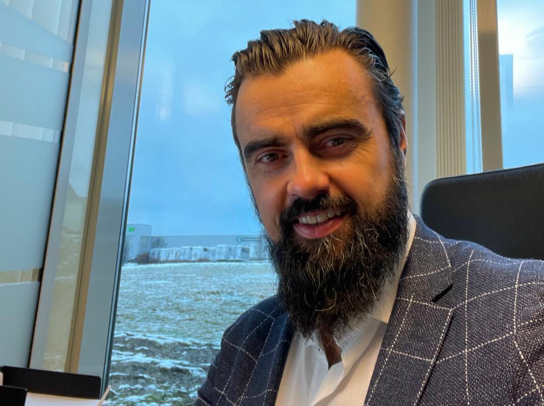 Hans Helmenbakken gleder seg over at svenske RCO har sikret seg aksjemajoriteten i Easy Access AS. – De vil hjelpe oss med å ta selskapet til nye nivåer, sier Easy Access-sjefen Hans Helmenbakken.