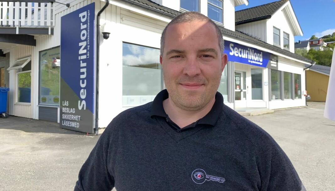 Gründer Jens Christian Helgesen gleder seg over nye sykehus-kontrakter, og er svært fornøyd med erfaringene Securinord har gjort seg etter at de ble en del av Prosero Security Group.