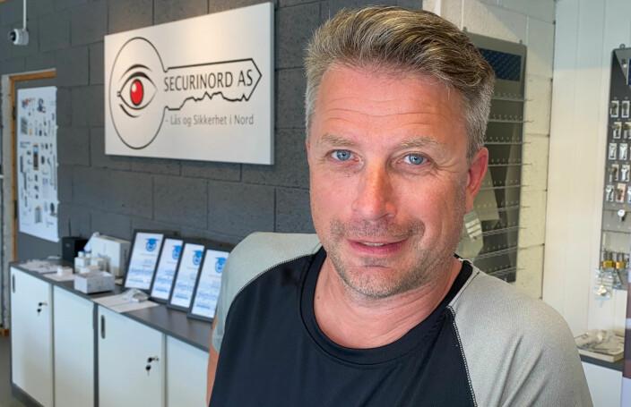 Daglig leder Terje Karoliussen konstaterer at Securinord har sikret seg kontrakter med to sykehus i nærområdet for de neste årene.