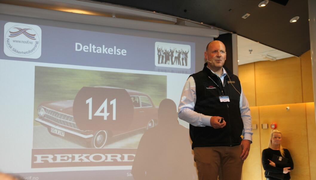 Øyvind Halnes i Norsk Sikkerhetsforening håper flest mulig melder seg på Sikkerhetskonferansen som i år arrangeres digitalt.